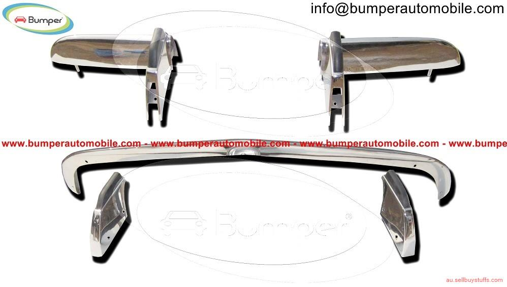 second hand/new: Opel GT bumper kit (1968–1973) stainless steel