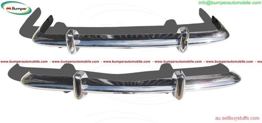 second hand/new: VW Karmann Ghia Euro style bumpers in stainless steel