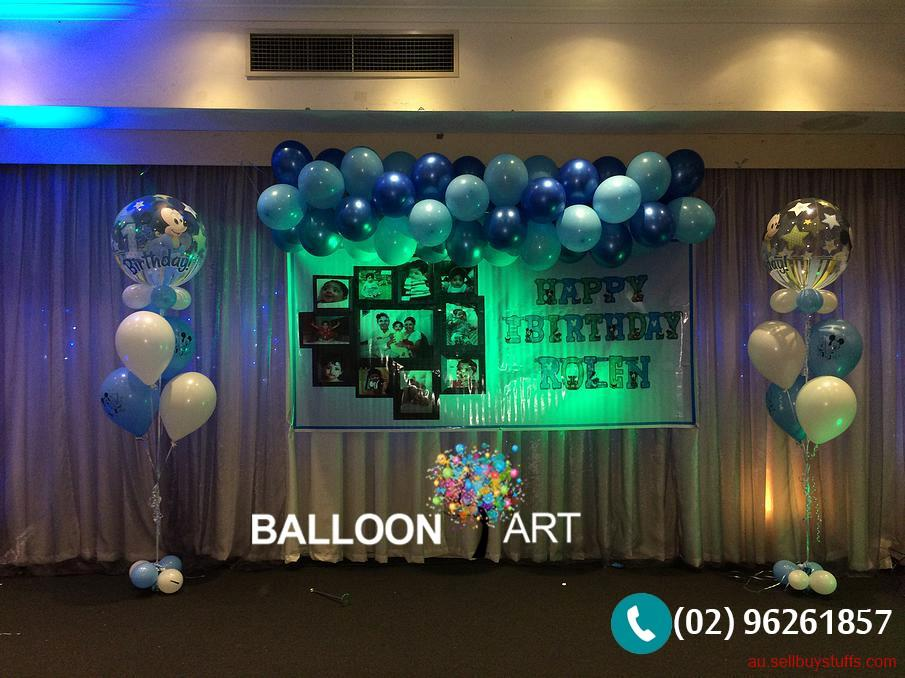 Australia Classifieds Balloon Decoration for Birthday Parties with Balloon Art