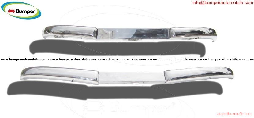 second hand/new: Mercedes W136 170 Vb bumper (1952–1953) by stainless steel