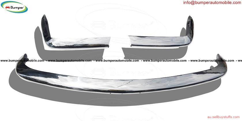 second hand/new: Fiat 124 Spider bumper kit (1966–1975) stainless steel